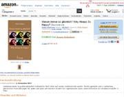 screenshot von Bestellpage Amazon