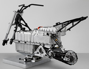 BMW C evolution stripped