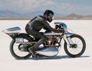 Speed Record von Brough Superior