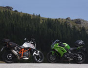 Kawa ER-6f vs Duke 690 by Philip Magner 2012