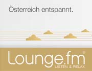 screenshot von lounge.fm-homepage